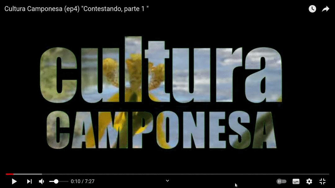 CONTESTANDO, cultura cabocla e agroecologia