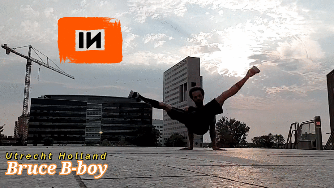 Freestyle 001 - Bruce Bboy: Utrecht, Holland