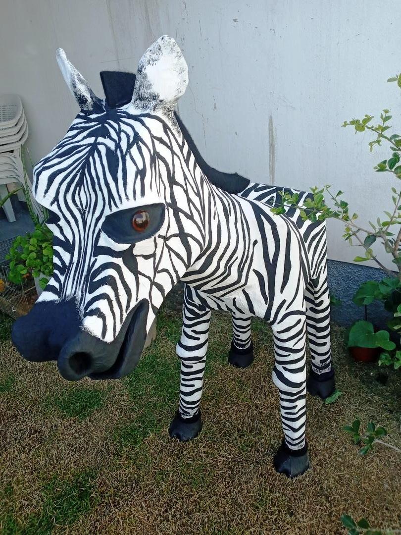 Zebra base reciclável