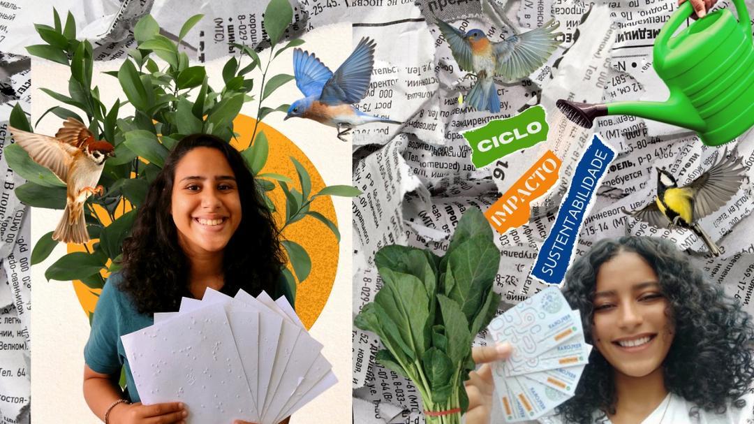 Reflorar papelaria sustentável