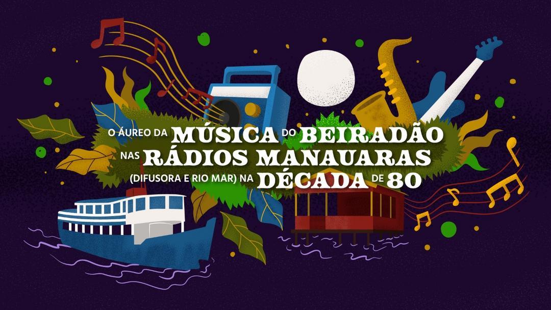 O áureo da música do beiradão nas rádios manauaras(Difusora e Rio Mar) na década de 80