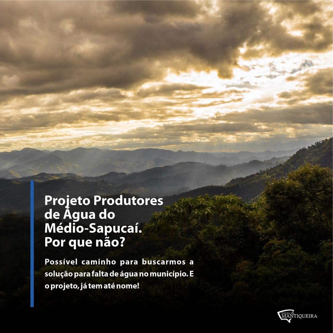 Que tal um projeto que pague pela produção de água? Pois bem, já existe e é referência