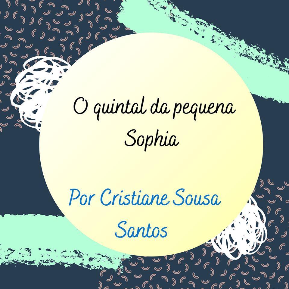 O quintal da pequena Sophia