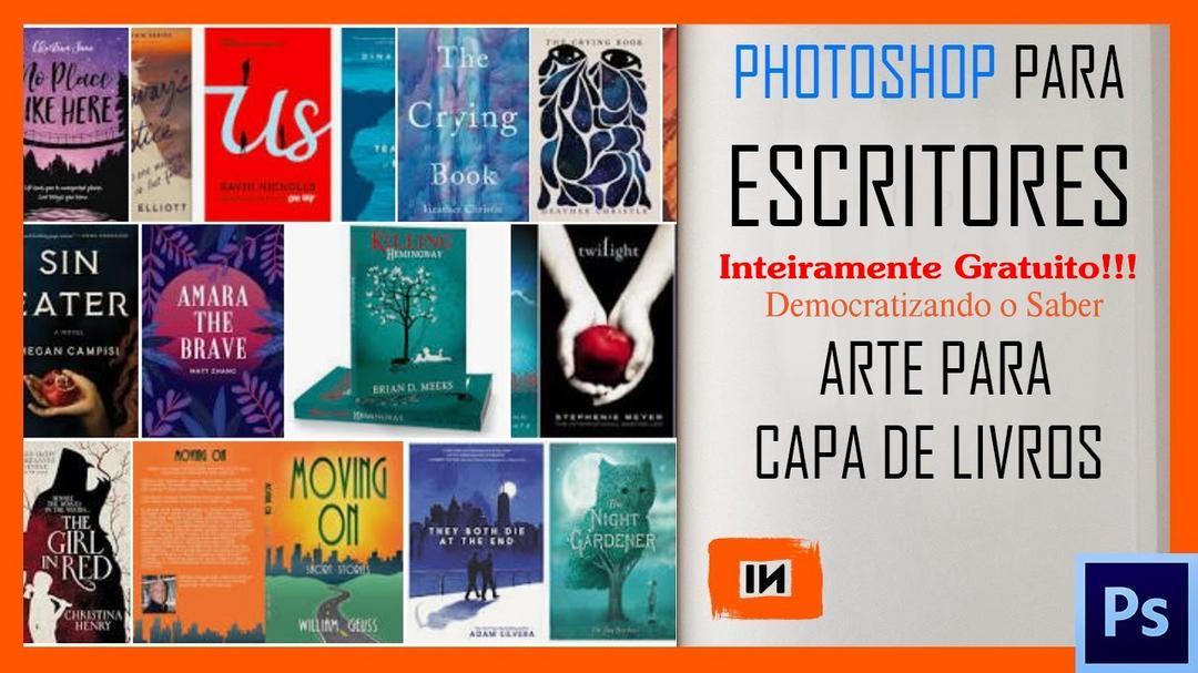 Photoshop para Escritores - Arte para Capa de Livros - Curso Gratuito