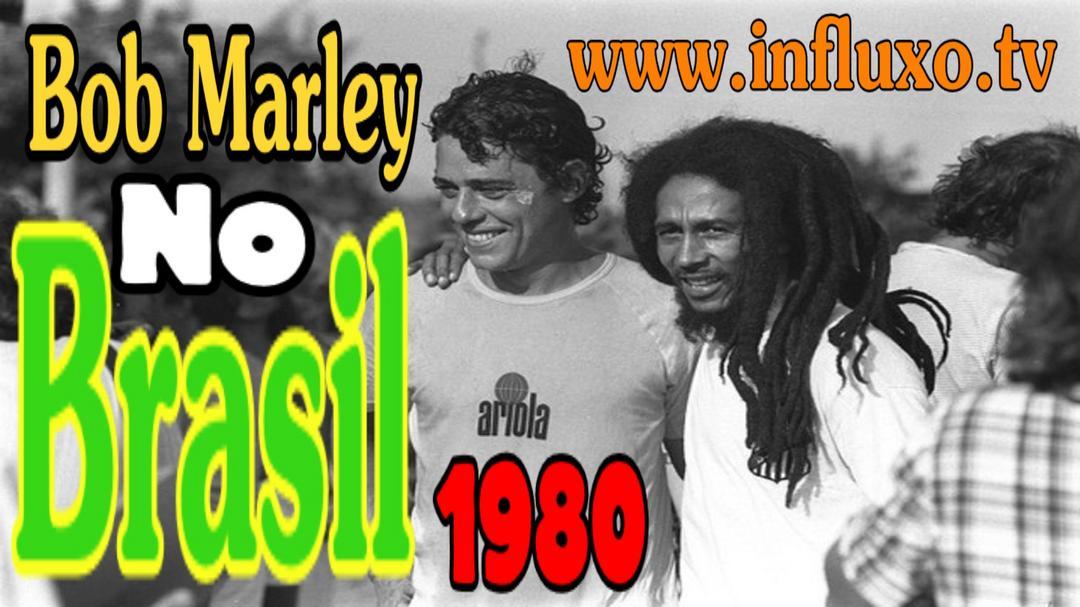 Imagens Raras de Bob Marley no Brasil - 1980