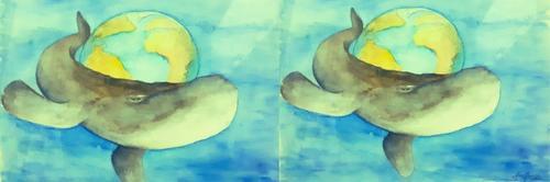 A Baleia e a Terra