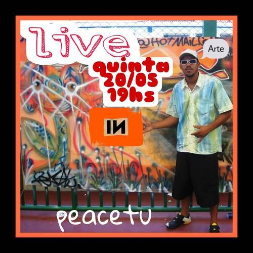 Live com PeaceTU na INfluxoTV
