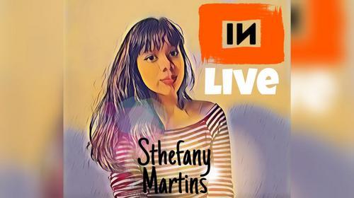 Live com Sthefany Martins
