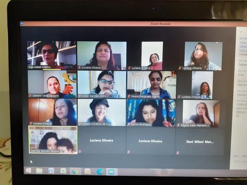 Oficina poética online para educadores da rede pública