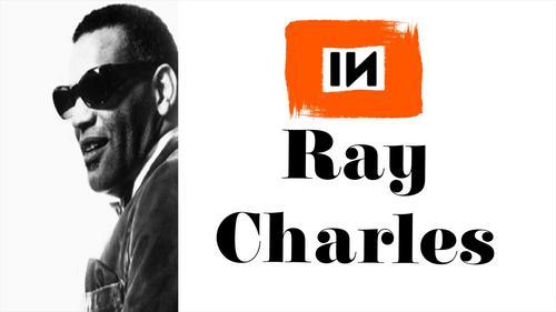Quadro Prisma Azul: Ray Charles - Hit The Road Jack (Original)