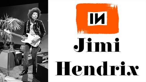 Quadro Prisma Azul: Jimi Hendrix (1973) – Hear My Train A Comin' (Acoustic)