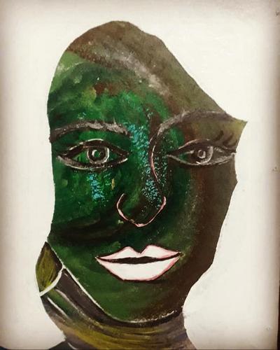 A moça verde