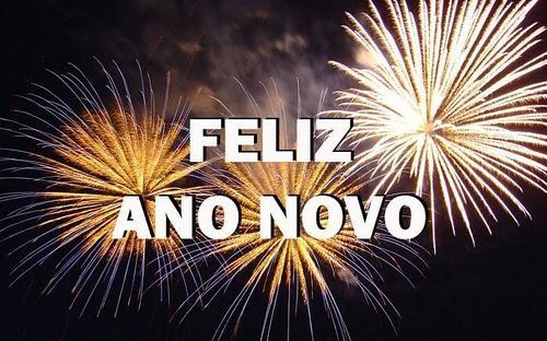 Feliz ano novo a todos.