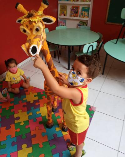 Girafinha Reciclável
