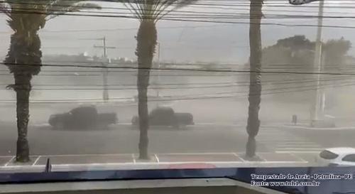 Tempestades de areia: a outra face da agricultura predatória
