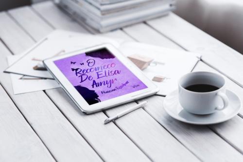O livro O Recomeço de Elisa Amyr nos mostra os altos e baixos da vida da protagonista